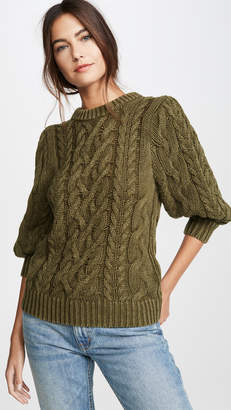 525 America Puff Sleeve Sweater