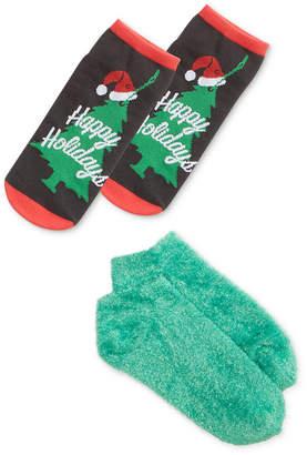 Hue 2-Pk. Footsie Socks Gift Box