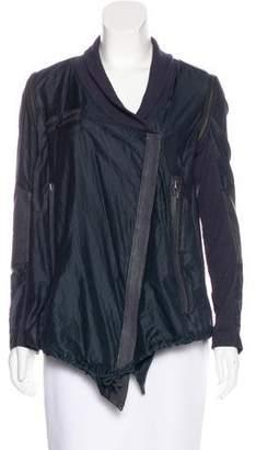 Yigal Azrouel Lightweight Zip-Up Jacket
