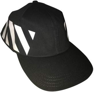 2193267634f9 Off-White Off White Black Cotton Hats   pull on hats