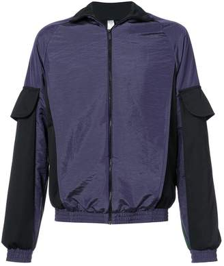 Cottweiler colourblocked bomber jacket