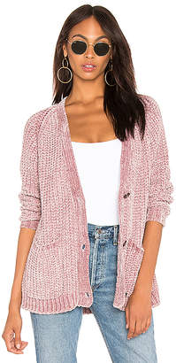525 America Bouncy Chenille Cardigan