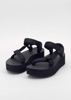 Teva Flatform Universal Black Sandal   Wildfang - Flatform Universal Sandal - BLACK - 10