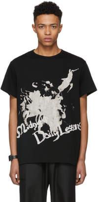 Yohji Yamamoto Black Midnight Daily Lessons T-Shirt