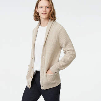 Club Monaco Plaited Shawl Cardigan