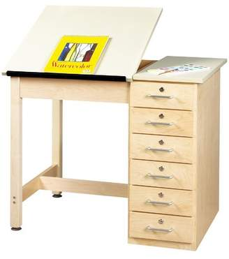 Shain Drafting Table Desk Style: Two Piece