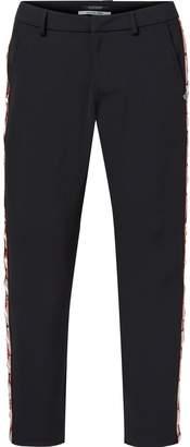 Scotch & Soda Embroidered Stretch Trousers