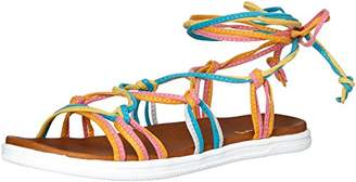 Mia Women's Florentina Flat Sandal,6.5 M US
