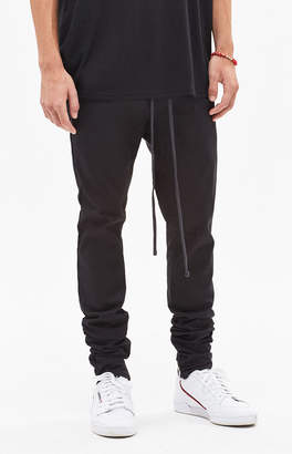 PacSun Drop Skinny Black Jogger Pants