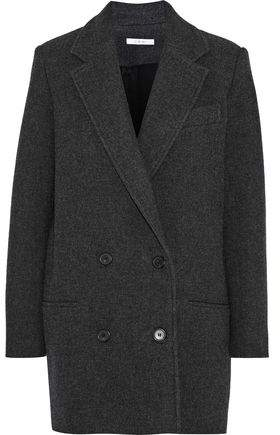 Kalso Double-Breasted Wool-Blend Twill Coat