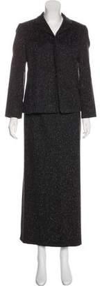 Paule Ka Wool-Blend Skirt Suit