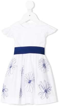 Il Gufo flower stitch dress
