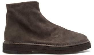 Marsèll Parapa Suede Chelsea Boots - Mens - Grey