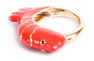 Chic Pig Gino Fish Red Ring