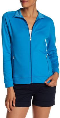 Peter Millar Full Zip Stretch Interlock Jacket $119.50 thestylecure.com