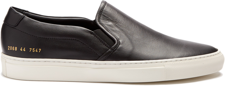 Common Projects COMMON PROJECTS Retro leather slip-on trainers