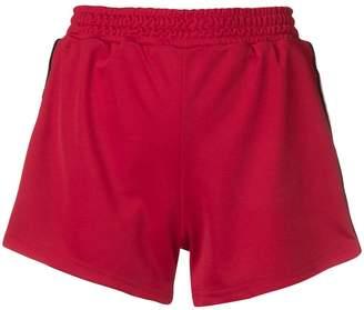 Chiara Ferragni Logomania side stripe shorts