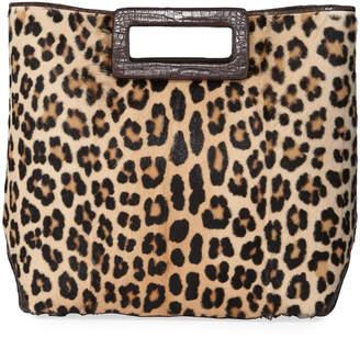 Nancy Gonzalez Dani Keyhole Large Leopard Tote Bag
