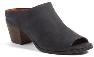 Women's Lucky Brand Benah Block Heel Mule $99.95 thestylecure.com