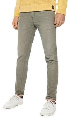 Scotch & Soda Ralston Slim Fit Jeans in Military Green