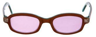 Dolce & Gabbana Tinted Retro Sunglasses