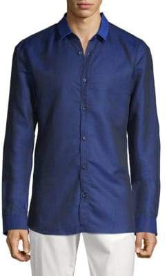 HUGO BOSS Classic Slim-Fit Button-Down Shirt