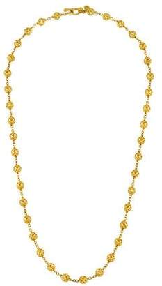 Cynthia Bach 18K Ball Chain Necklace