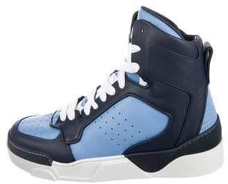 Givenchy Tyson 2 High-Top Sneakers w/ Tags blue Tyson 2 High-Top Sneakers w/ Tags
