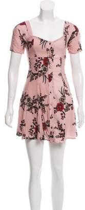 Flynn Skye Floral Mini Dress w/ Tags