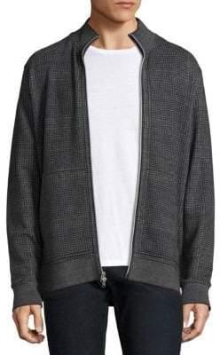 Robert Graham Hyde Park Heather Cotton Sweater Jacket
