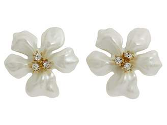 Kenneth Jay Lane Flowergirl Earrings