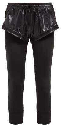 adidas by Stella McCartney Essential Double Layer Leggings - Womens - Black