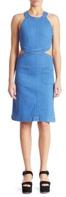 Stella McCartney Cutout Denim Dress $675 thestylecure.com
