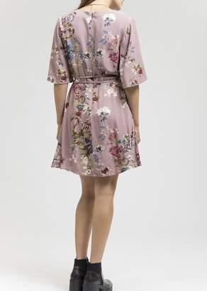 Blu Pepper Floral Wrap Dress