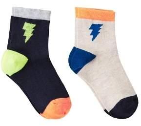 MANGO 2 pack thunderbolt socks