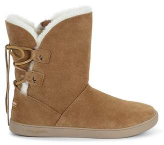 Koolaburra BY UGG Shazi Genuine Sheepskin & Faux Fur Lined Short Boot (Women)