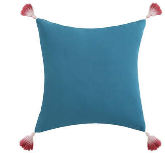"Pem America Oceanfront Resort Coco Paradise Dip Dyed Tassel 16"" x 16"" Decorative Pillow Bedding"