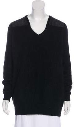 J Brand Angora-Blend V-Neck Sweater