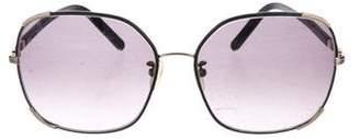 Chloé Square Gradient Sunglasses