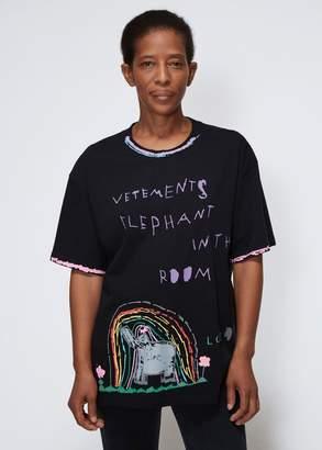 Vetements Elephant Luis T-Shirt