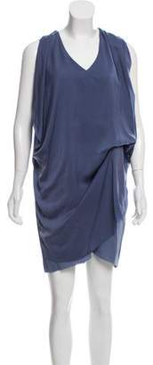 Acne Studios Sleeveless Draped Dress