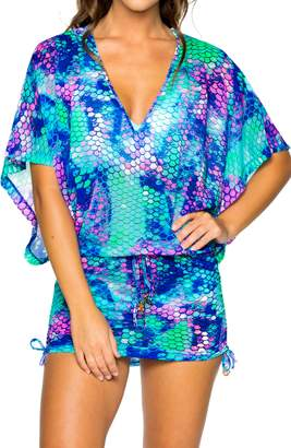 Luli Fama Cabana Cover-Up Dress