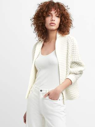 Gap Open-Front Shawl Collar Cardigan Sweater
