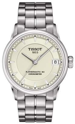 Tissot Women's Luxury Powermatic 80 Lady COSC Watch, 33mm