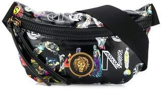 Versus lion head belt bag