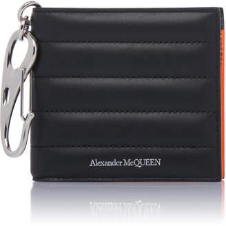 Alexander McQueen Quilted Leather Wallet
