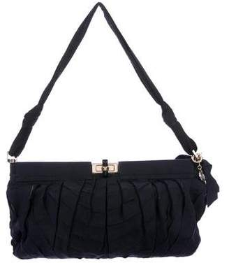 Lanvin Pleated Hinge Frame Shoulder Bag