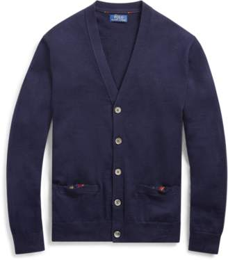 Ralph Lauren Washable Merino Wool Cardigan