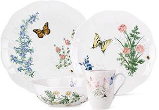 Lenox Dinnerware, Butterfly Meadow Herbs 16 Piece Set