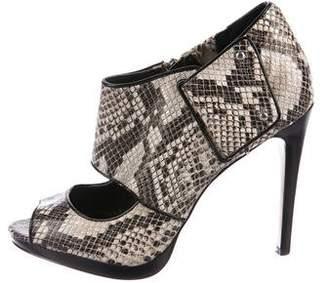 Calvin Klein Lenora Embossed Sandals